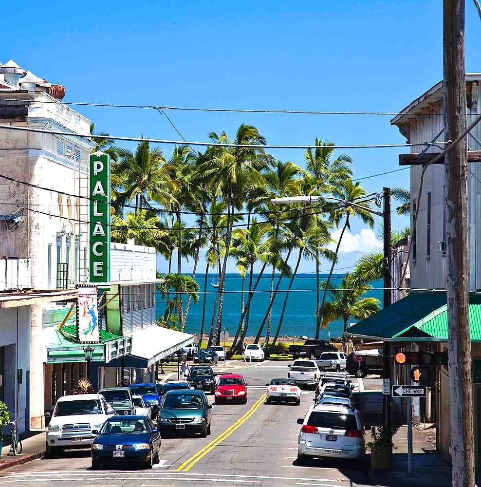 Hawaii S City On An Island Of The Same Name