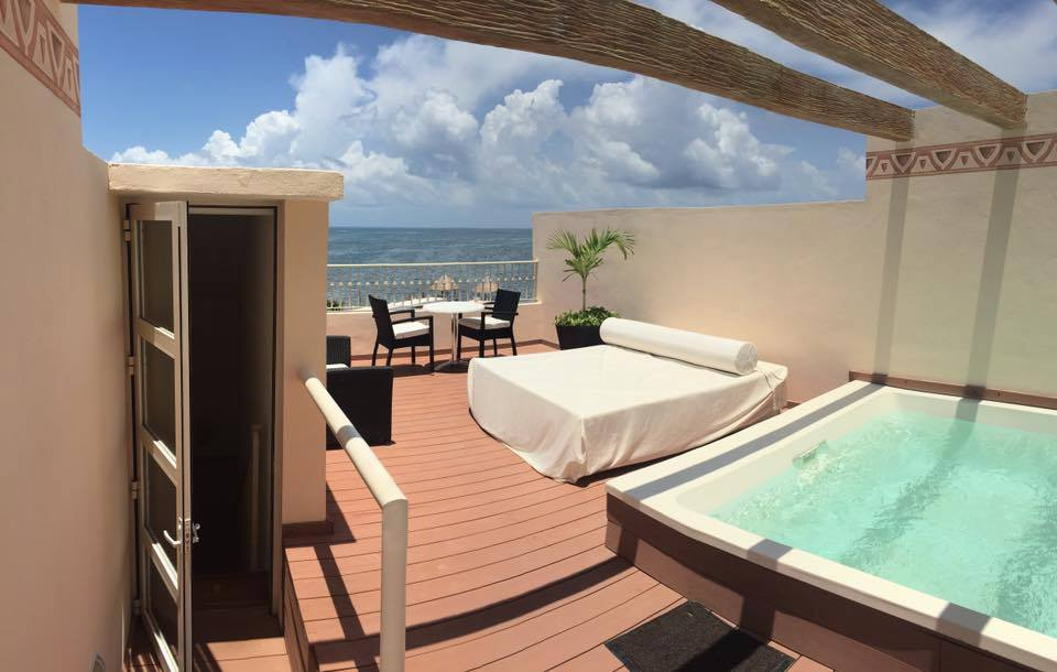 Two Story Rooftop Terrace Suite Oceanfront From Photo
